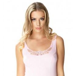 Emili wiskozowa koszulka na cienkim ramiączku duże rozmiary MANON