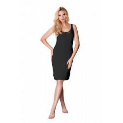 Andalea erotyczny czarny pas do pończoch ze spódniczką duże rozmiary E/2026 od 38 do 56