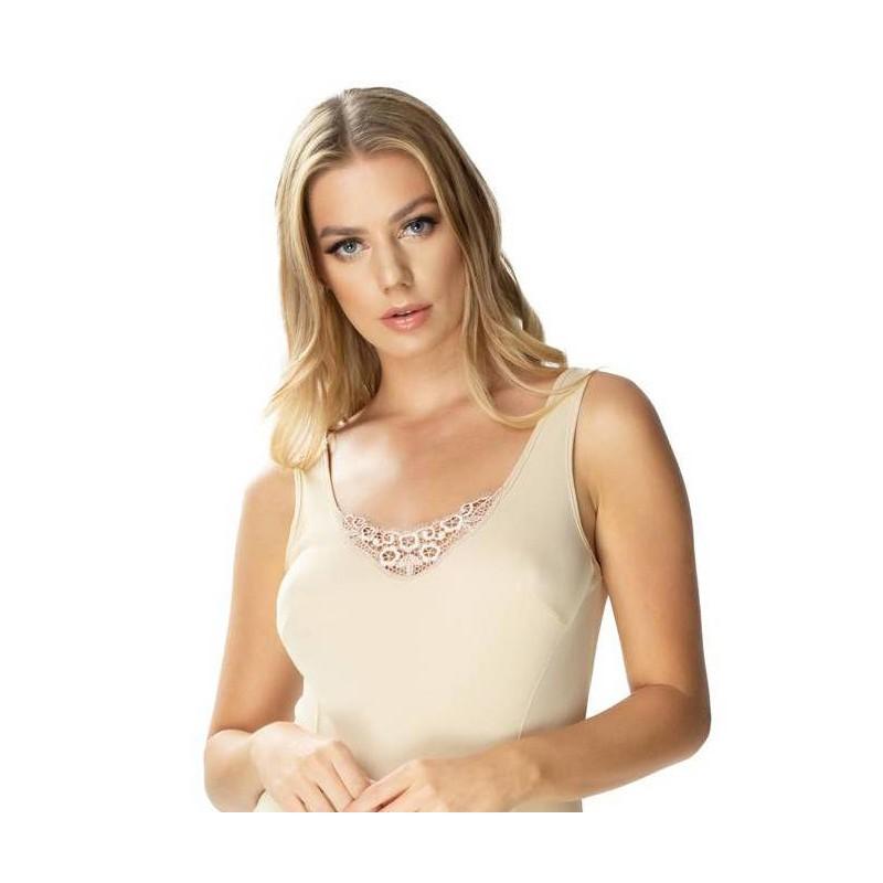 Andalea erotyczna różowa koszulka duże rozmiary SB/1017 od 38 do 56