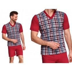 Piżama dla Puszystego Pana Roman bordowa