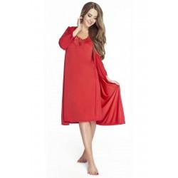 Gatta czarna sukienka dzianinowa duże rozmiary Milena Dress