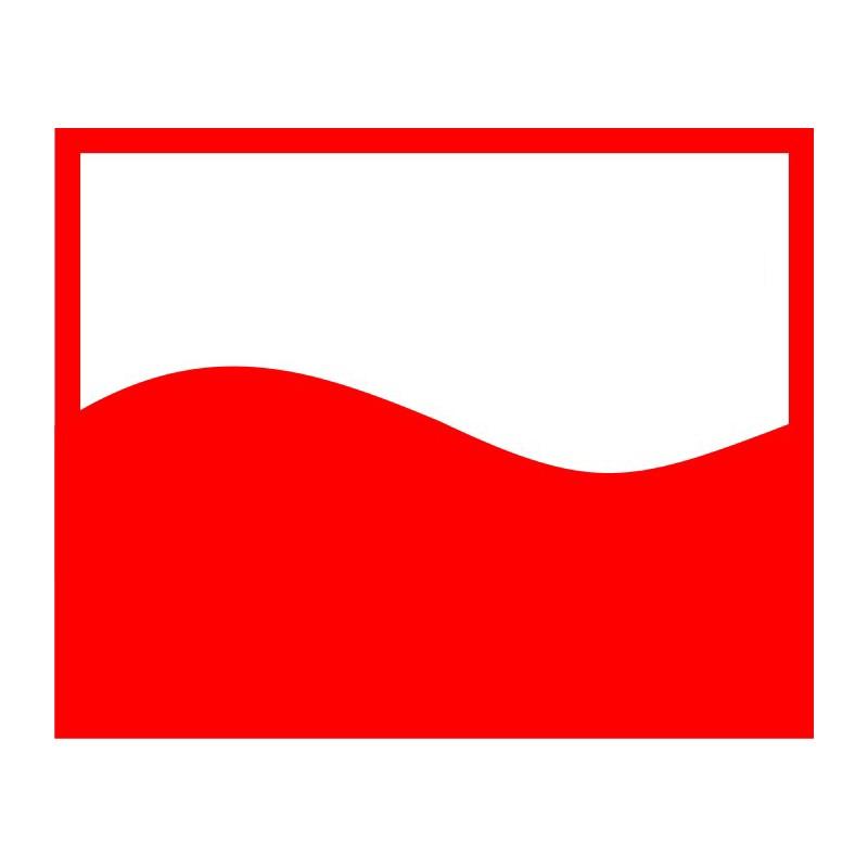 Andalea czerwona podwiązka na studniówkę dla puszystych model M/1062 od S do 3XL