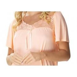 Eldar elegancka bluzka damska dla puszystych Fuksja Plus 3XL