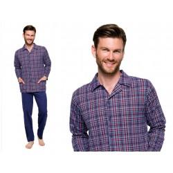 Piżama dla Puszystego Pana 3XL Taro Gracjan bordo