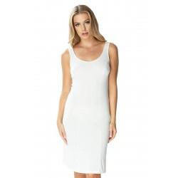 Mewa wiskozowa piżama damska na guziki dla Puszystych 4113 do rozmiaru 60