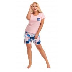 Andalea seksowna koszulka z koronką duże rozmiary LILIANE M/1004 od 38 do 56
