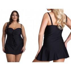 Strój kąpielowy Plus Size 4XL sukienka plażowa