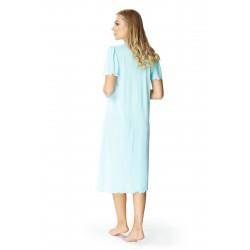 Mewa rozpinana piżama z wiskozy duże rozmiary 4110 do rozmiaru 62
