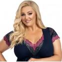 Eldar koszulka damska bawełniana duże rozmiary Arietta XXXL